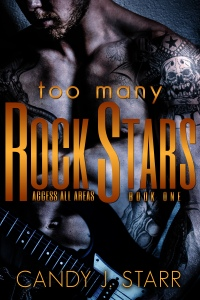 (HANDOVER) eBook cover, Too Many Rock Stars